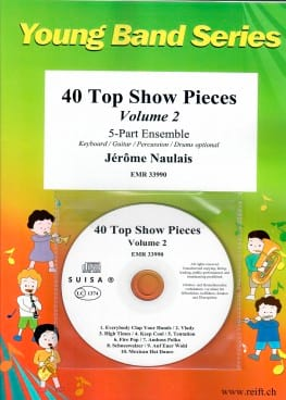 Jérôme Naulais - 40 Top Show Pieces - Volume 2 - Sheet Music - di-arezzo.co.uk