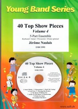 Jérôme Naulais - 40 Top Show Pieces - Volume 4 - Sheet Music - di-arezzo.co.uk