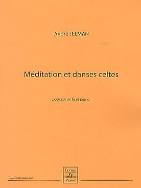 André Telman - Keltische Meditation und Tänze - Partition - di-arezzo.de