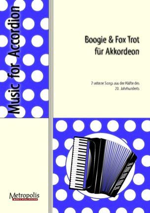 Boogie & Fox Trot für Akkordeon Partition Accordéon - laflutedepan