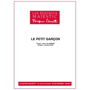 Le Petit Garçon Serge Reggiani Partition laflutedepan