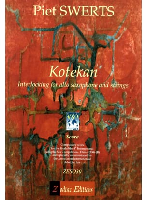 Piet Swerts - Kotekan - Sheet Music - di-arezzo.co.uk