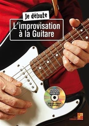 Je débute l'improvisation à la Guitare Eric Lemaire laflutedepan