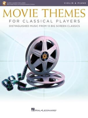 Movie Themes for Classical Players - Violon & Piano laflutedepan