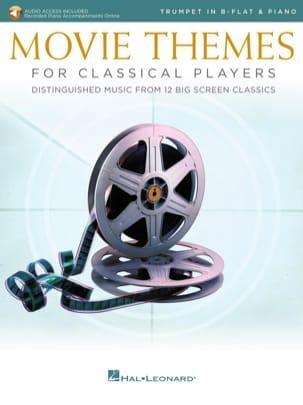- Movie Themes for Classical Players - Trompette & Piano - Partition - di-arezzo.fr