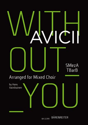 Without You - SABTB Avicii Partition Chœur - laflutedepan