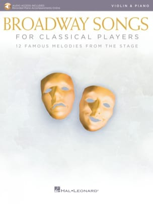 - Broadway Songs For Classical Players - Violin - Piano - Sheet Music - di-arezzo.co.uk