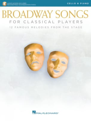 - Broadway Songs For Classical Players - Cello - Piano - Sheet Music - di-arezzo.co.uk