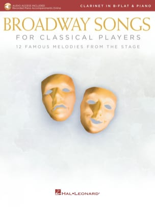 - Broadway Songs For Classical Players - Clarinet - Piano - Sheet Music - di-arezzo.com