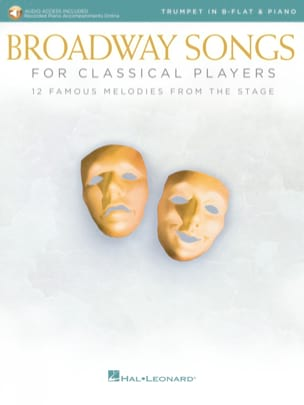 - Broadway Songs For Classical Players – Trompette & Piano - Partition - di-arezzo.fr