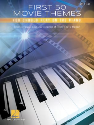 First 50 Movie Themes You Should Play on the Piano - Partition - di-arezzo.fr