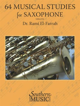 - 64 Musical Studies for All Saxophones - Sheet Music - di-arezzo.com