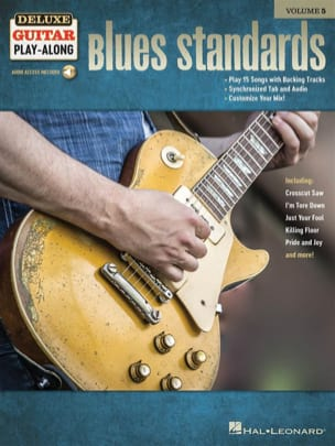 Deluxe Guitar Play-Along Volume 5 - Blues Standards laflutedepan