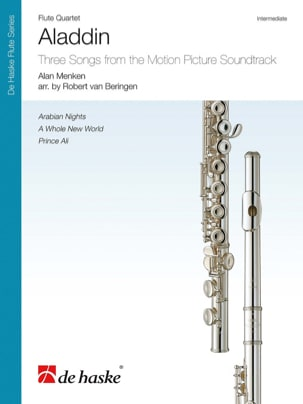 Aladdin - Flute Quartet DISNEY Partition laflutedepan
