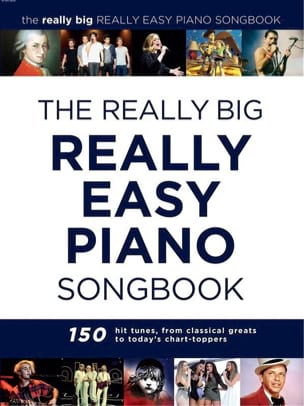 - The Really Big Really Easy Piano Book - Partition - di-arezzo.fr