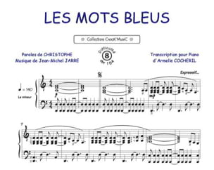 Christophe - The blue words - Sheet Music - di-arezzo.com