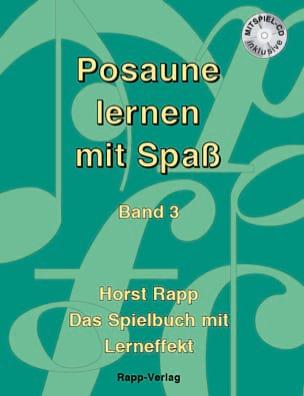 Posaune lernen mit Spaß Band 3 - Horst Rapp - laflutedepan.com