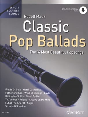 Classic Pop Ballads Partition Clarinette - laflutedepan