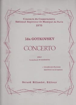 Ida Gotkovsky - Concerto - Sheet Music - di-arezzo.co.uk
