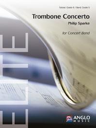 Trombone Concerto Philip Sparke Partition Grand format - laflutedepan