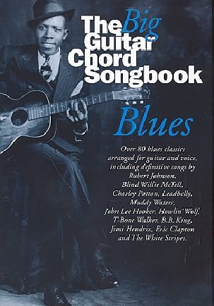 - Big Guitar Chord Songbook Blues - Sheet Music - di-arezzo.co.uk