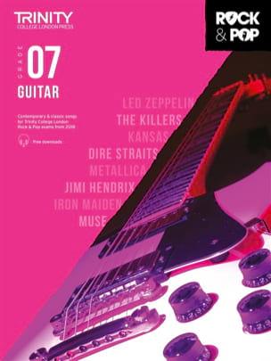 Trinity Rock and Pop 2018 -20 Guitar Grade 7 Partition laflutedepan