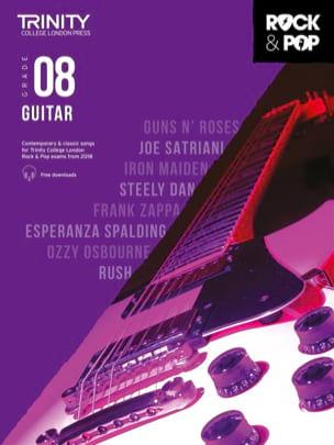 Trinity Rock and Pop 2018 -20 Guitar Grade 8 Partition laflutedepan