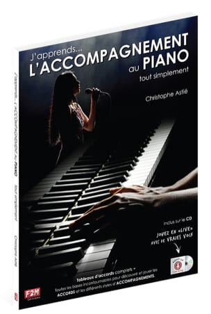 Christophe Astié - I am learning ... THE PIANO ACCOMPANIMENT simply - Partition - di-arezzo.co.uk