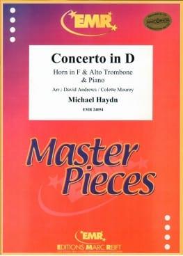 Concerto in D Michael HAYDN Partition laflutedepan