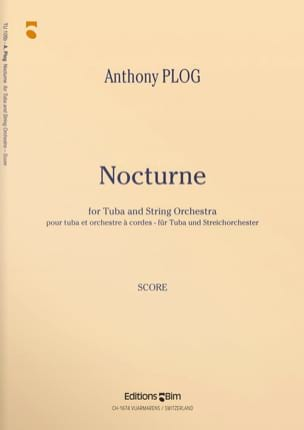 Nocturne - Parties Anthony Plog Partition Tuba - laflutedepan