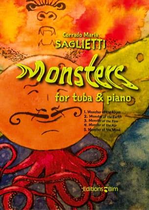 Monsters Corrado Maria Saglietti Partition Tuba - laflutedepan