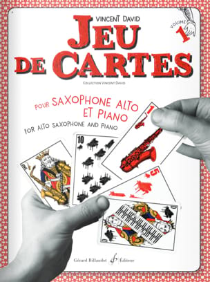 Jeu de cartes - Volume 1 Vincent David Partition laflutedepan