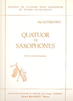 Ida Gotkovsky - Saxophone Quartet - Conductor and Parts - Sheet Music - di-arezzo.co.uk