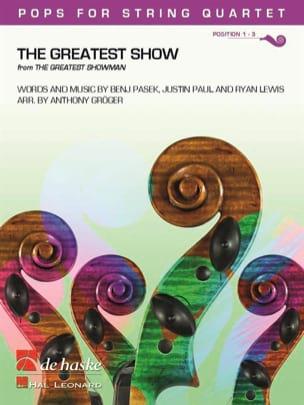The Greatest Show - Pops for String Quartet Partition laflutedepan
