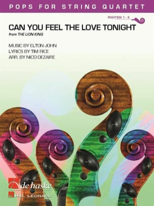 Can You Feel the Love Tonight - Pops for String Quartet laflutedepan