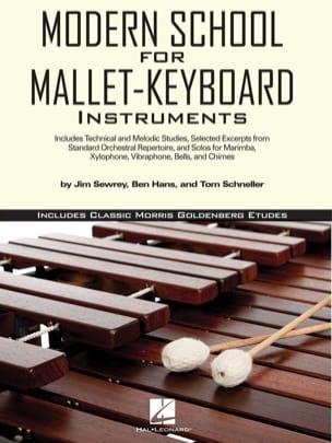 Modern School For Mallet-Keyboard Instruments laflutedepan