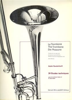 André Goudenhooft - 24 Etudes Techniques - Partition - di-arezzo.fr