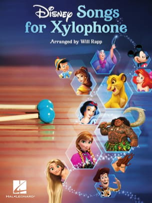 Disney Songs for Xylophone DISNEY Partition Xylophone - laflutedepan