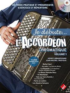 Je débute... l'accordéon chromatique - Volume 1 laflutedepan