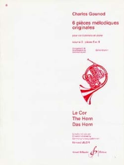 Charles Gounod - 6 Original Melodic Pieces Volume 3 - Sheet Music - di-arezzo.com