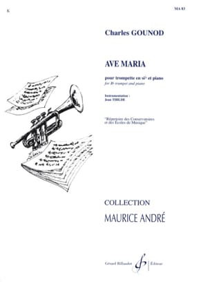 Ave Maria Charles Gounod Partition Trompette - laflutedepan