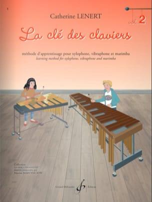 La Clé des claviers - Volume 2 Catherine Lénert laflutedepan