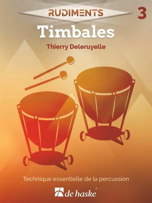 Rudiments 3 - Timbales Thierry Deleruyelle Partition laflutedepan