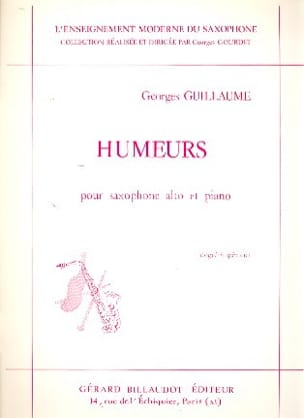 Georges Guillaume - Humeurs - Partition - di-arezzo.fr