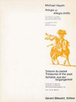 Michel Haydn - Adagio Et Allegro Molto - Partition - di-arezzo.fr