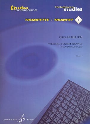 Gilles Herbillon - 6-40 Etudes contemporaines volume 2 - Partition - di-arezzo.fr