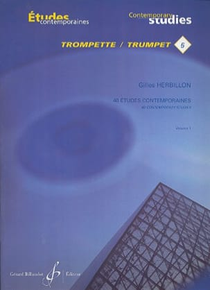 Gilles Herbillon - 40 Etudes contemporaines volume 1 - Partition - di-arezzo.fr