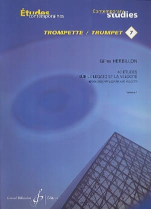 Gilles Herbillon - 40 Studies on legato and velocity volume 1 - Sheet Music - di-arezzo.com