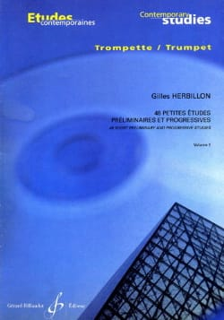 Gilles Herbillon - 48 Small studies volume 1 - Sheet Music - di-arezzo.com