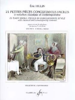 Eric Hulin - 21 Small Easy Concertante Rooms Volume 3 - Sheet Music - di-arezzo.com